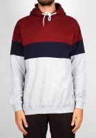 dedicated-hoodies-falun-stripe-burgundy-vorderansicht-0445139