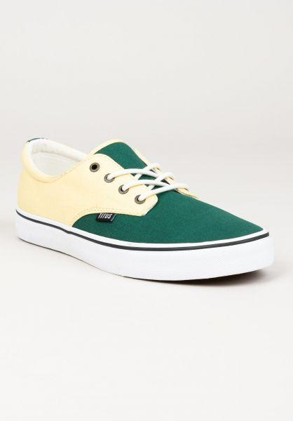 TITUS Alle Schuhe Clubman vanilla-darkgreen-white vorderansicht 0604300