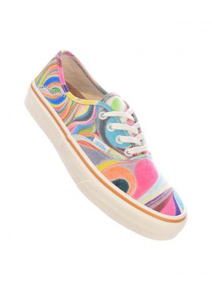 Vans Alle Schuhe Authentic chris-johanson-swirlantique vorderansicht 0611322