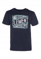 Element T-Shirts Jagger Kids eclipsenavy Vorderansicht