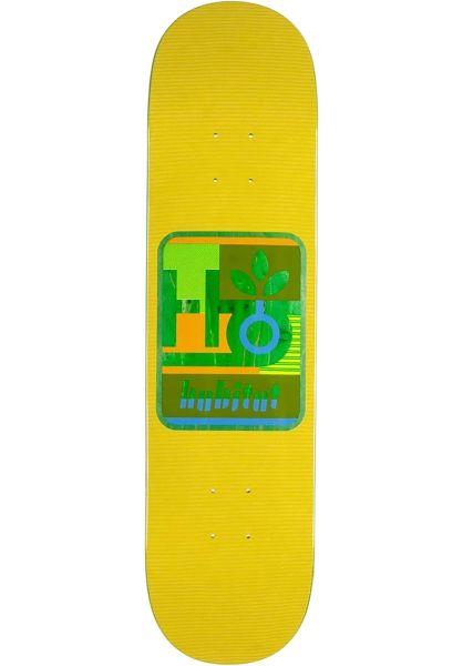 Habitat Skateboard Decks Mod Pod yellow vorderansicht 0226233