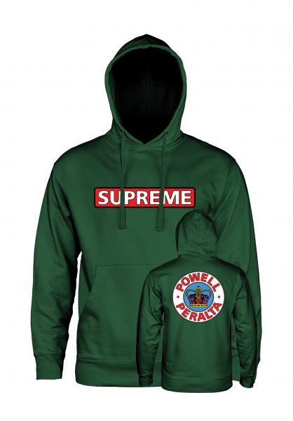 Powell-Peralta Hoodies Supreme Medium Weight alpine-green vorderansicht 0443976