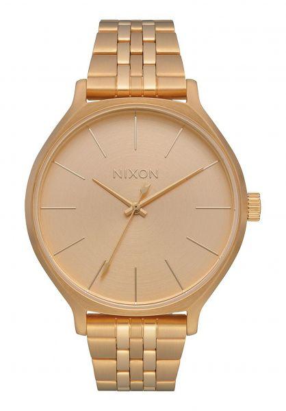 Nixon Uhren The Clique all-gold Vorderansicht