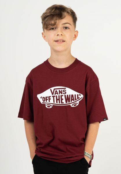 Vans T-Shirts OTW Kids pomgranate vorderansicht 0377897