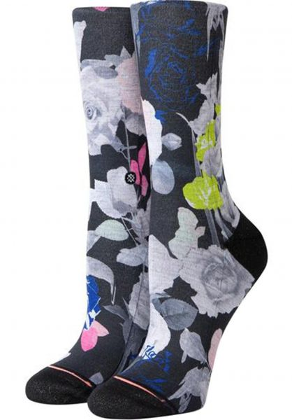 Stance Socken Splendid Crew black vorderansicht 0631642