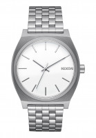 Nixon Uhren The Time Teller white Vorderansicht