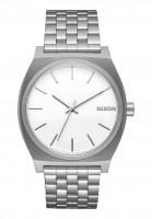 Nixon Uhren The Time Teller white Vorderansicht