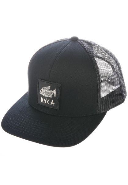 RVCA Caps Dead Fish Trucker black vorderansicht 0567141