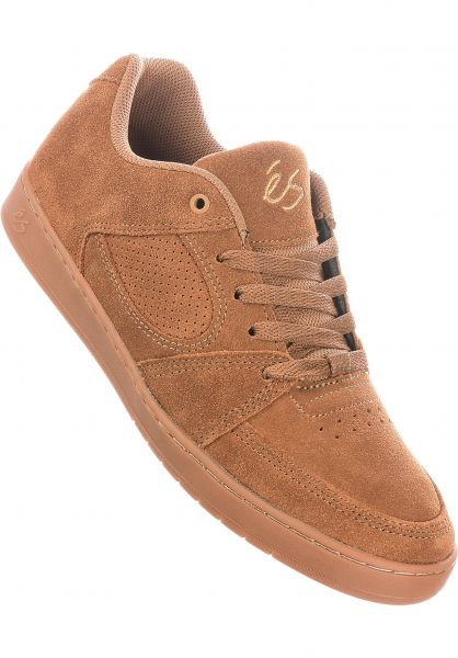 ES Alle Schuhe Accel Slim brown-gum vorderansicht 0604839