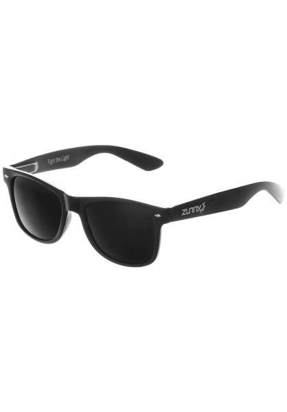 Zunny Sonnenbrillen Standard black-black-black Vorderansicht