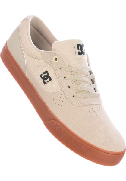 DC Shoes Alle Schuhe Switch S white-white-gum vorderansicht 0604029