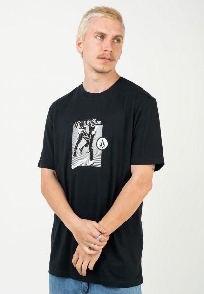 Volcom T-Shirts Hittin BSC black vorderansicht 0323524