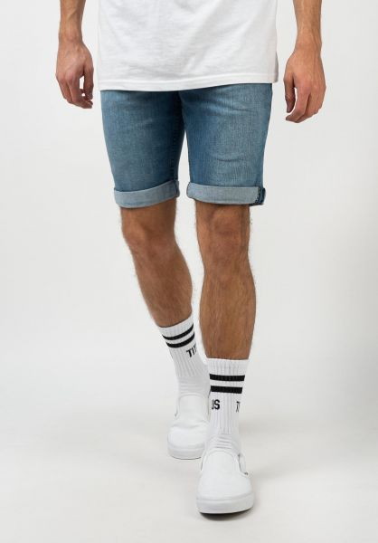 Mazine Jeansshorts Denim Shorts vanished-blue vorderansicht 0278019
