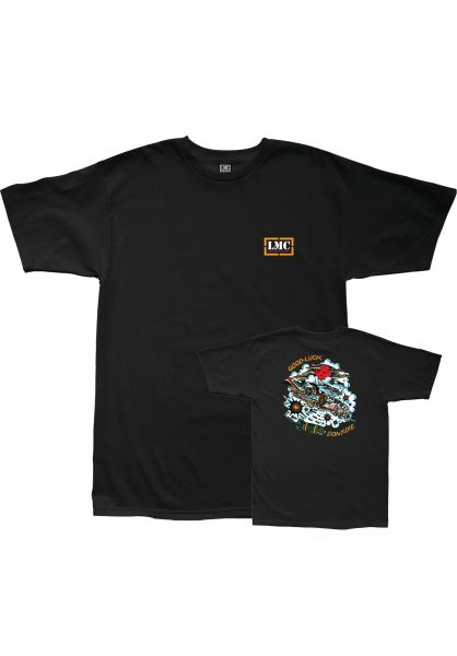 Loser-Machine T-Shirts Squadron black vorderansicht 0322837