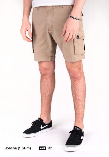 Reell Shorts City Cargo Short darksand Vorderansicht