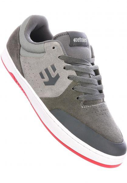 etnies Alle Schuhe Marana x Michelin grey-darkgrey-red vorderansicht 0604316