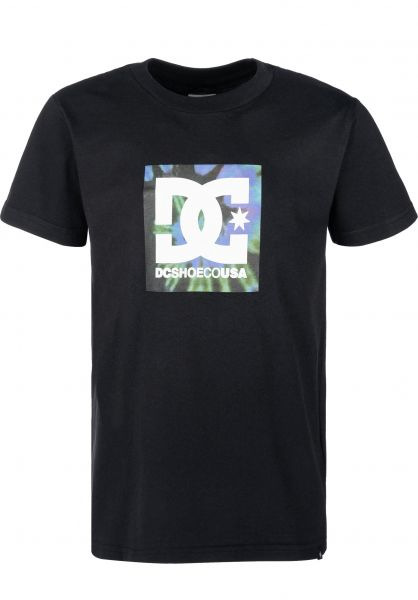 DC Shoes T-Shirts Square Star Fill Kids black vorderansicht 0323293