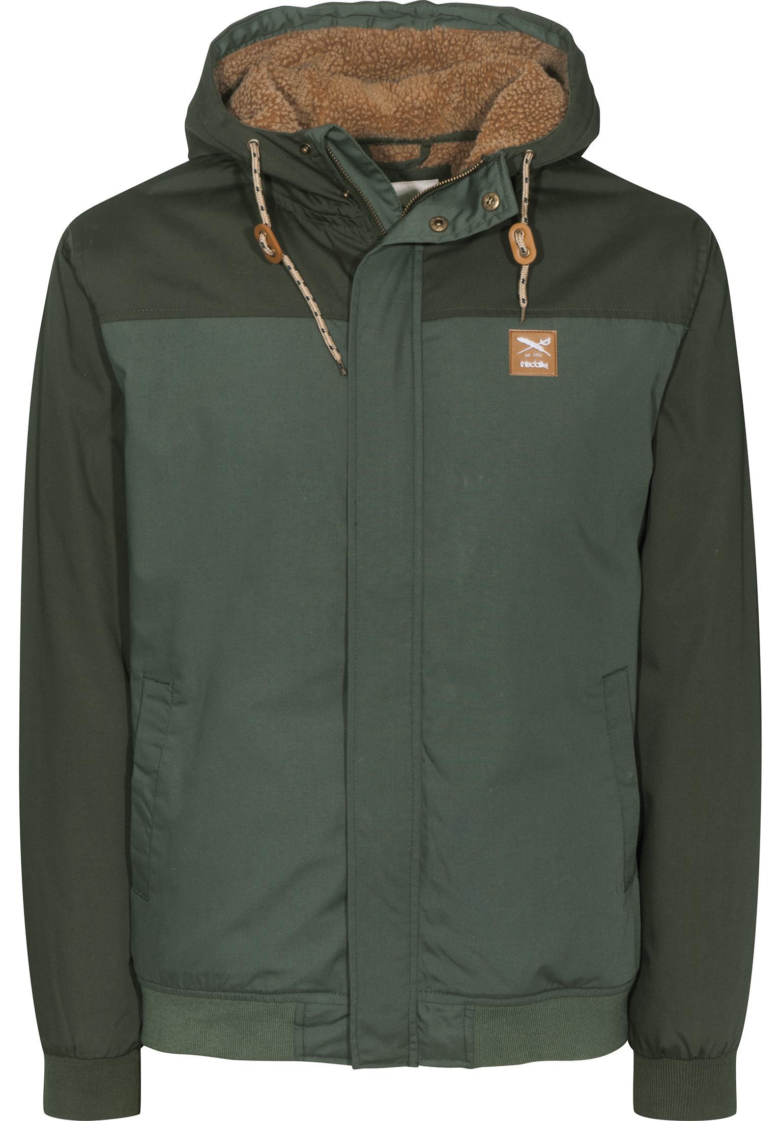 Eissegler Jacket iriedaily Winterjacken in olivegrey für Herren   Titus fcf18d1837
