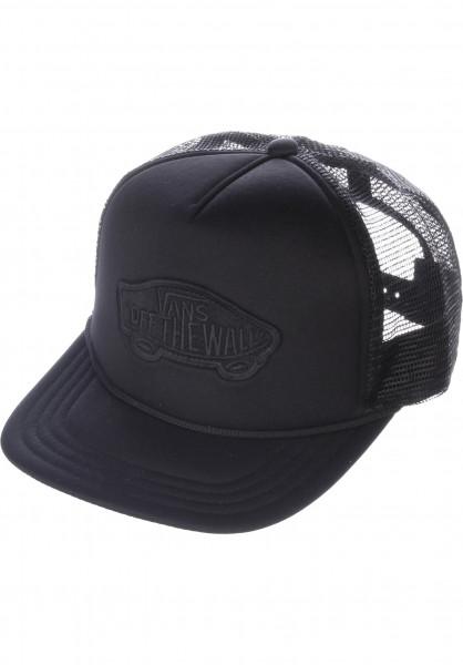 Vans Caps Classic Patch Trucker black-black Vorderansicht