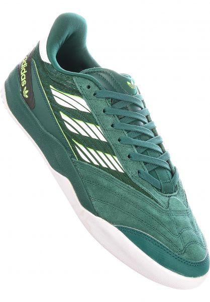 adidas-skateboarding Alle Schuhe Copa Nationale green-white vorderansicht 0604790