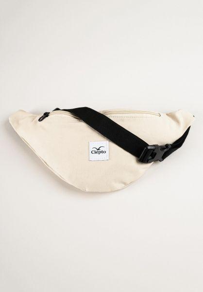 Cleptomanicx Hip-Bags C.I. Patch peyote vorderansicht 0169032