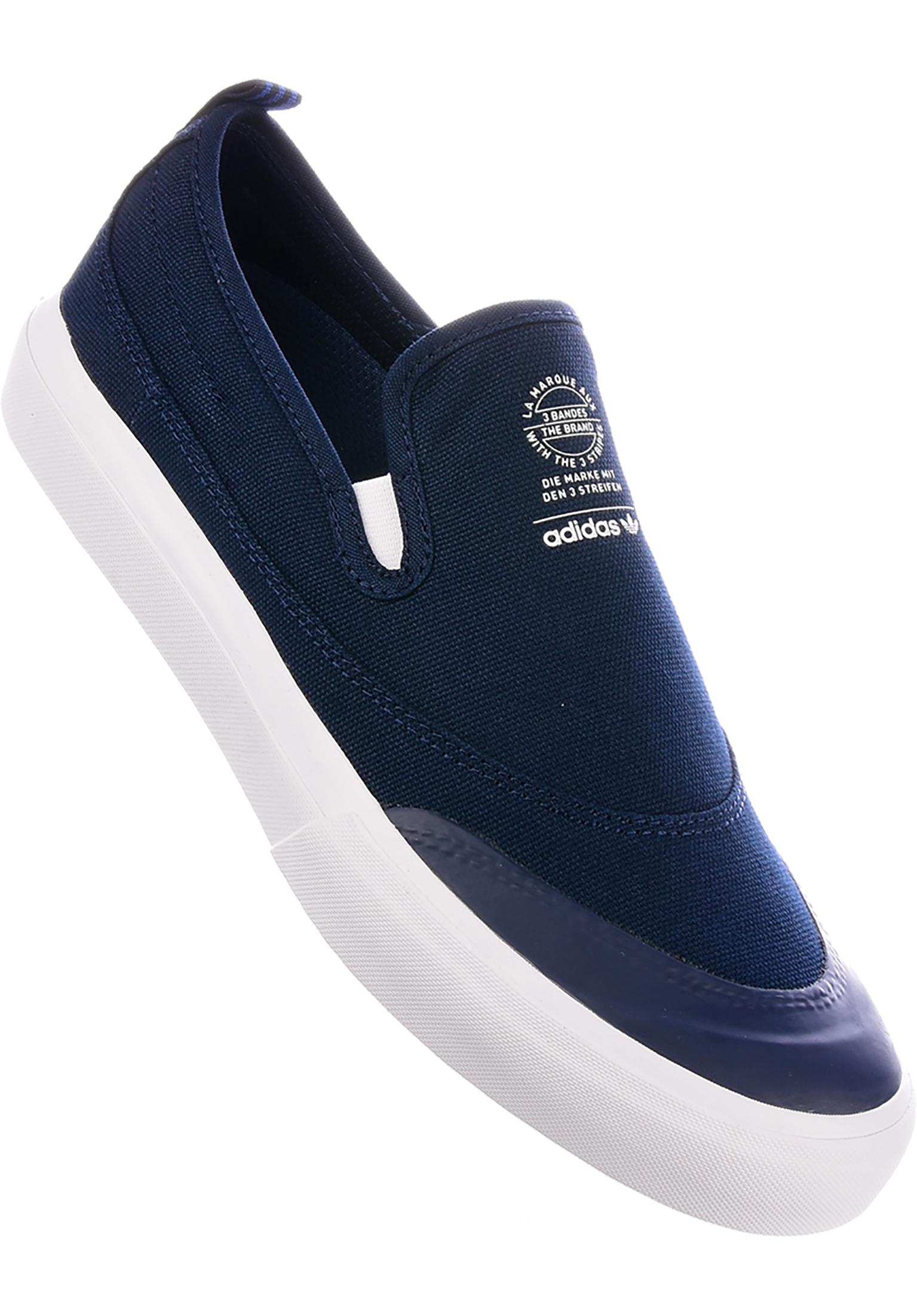 417166c27138 Matchcourt Slip adidas-skateboarding All Shoes in navy-white-gum for Men