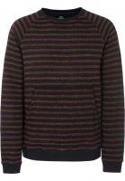 TITUS Strickpullover Sasha rust-striped Vorderansicht
