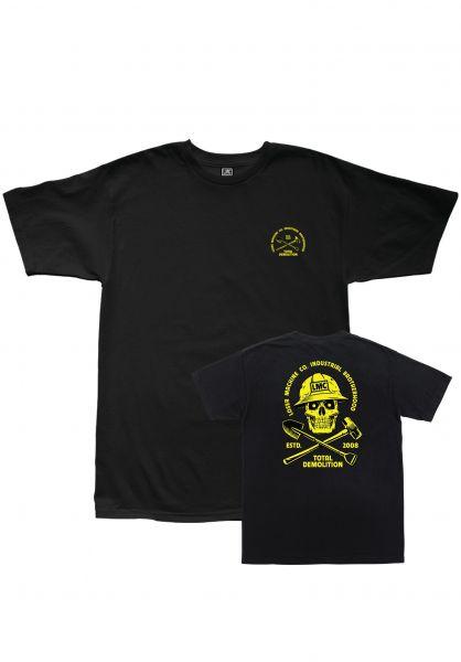 Loser-Machine T-Shirts Demolition black vorderansicht 0383246