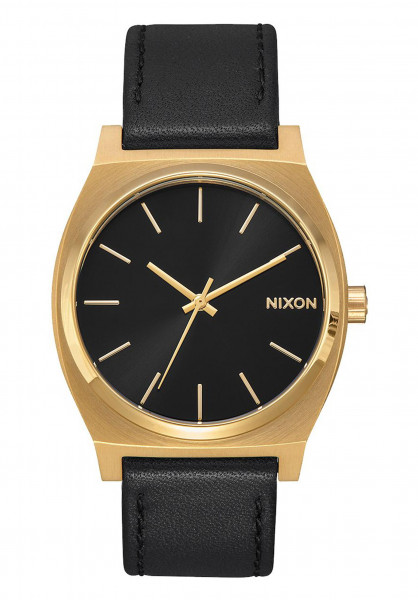Nixon Uhren The Time Teller gold-black-black Vorderansicht