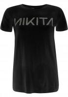 Nikita T-Shirts Dusk Tee Quartz black Vorderansicht