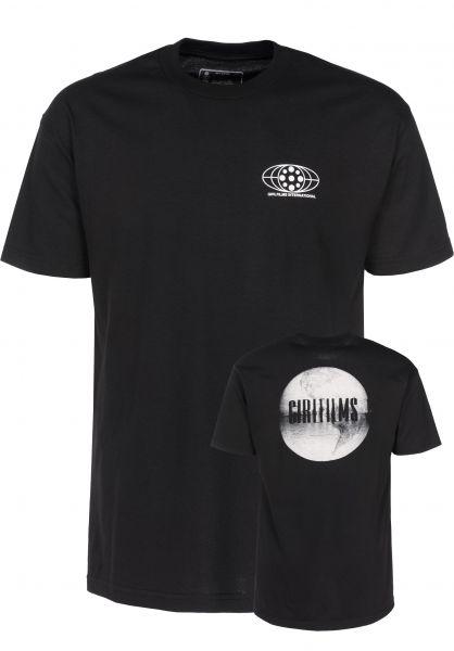 Girl T-Shirts Globe black Vorderansicht