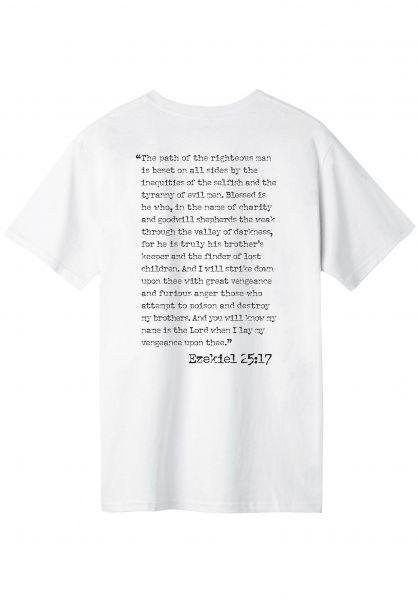 HUF T-Shirts Ezekiel white unteransicht 0321180