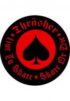 Thrasher-Verschiedenes-Oath-Sticker-red-Vorderansicht