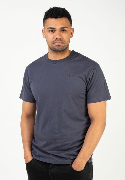 Rhythm T-Shirts Essential Logo navy vorderansicht 0323913