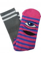 Toy-Machine Socken Sect-Eye-III heather-pink Vorderansicht