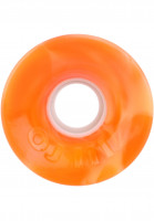 OJ Wheels Rollen Hot Juice 78A orange-white-swirl Vorderansicht