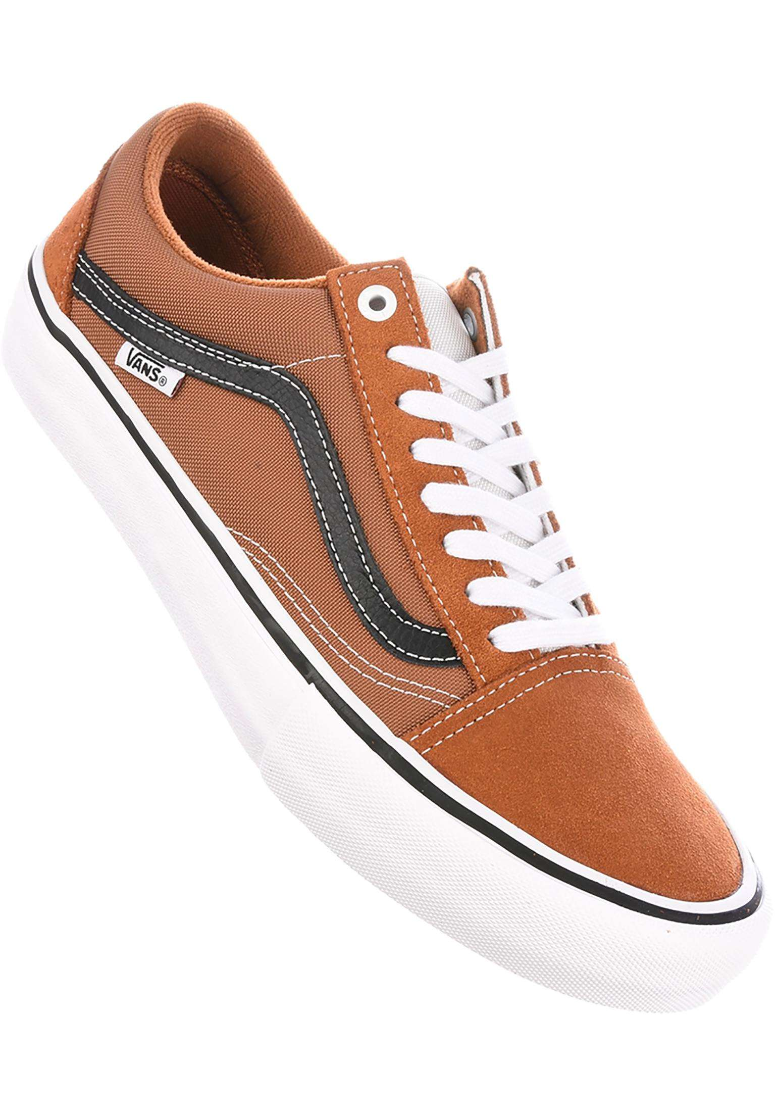 353f3d040321 Old Skool Pro Vans All Shoes in glazedginger-black for Men