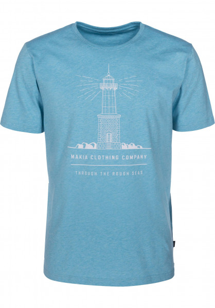Makia T-Shirts Lighthouse goshma Vorderansicht