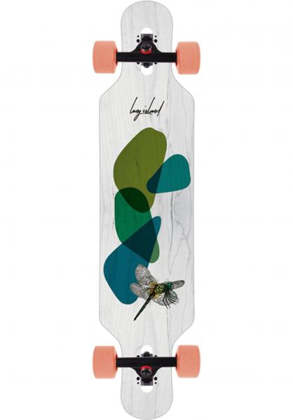 "Long Island Longboards komplett Fly 38.9"" DT multicolored vorderansicht 0194262"