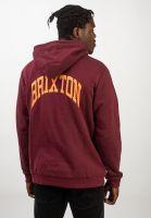brixton-hoodies-forte-v-maroon-vorderansicht-0445461