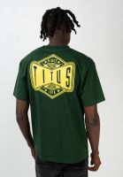 titus-t-shirts-airwaves-backprint-greenheather-vorderansicht-0320162