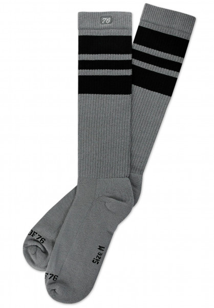 Spirit of 76 Socken The Black Blacks On Greys Hi black-black-black-grey Vorderansicht