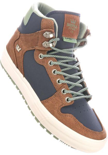 Supra Alle Schuhe Vaider CW navy-brown vorderansicht 0604225