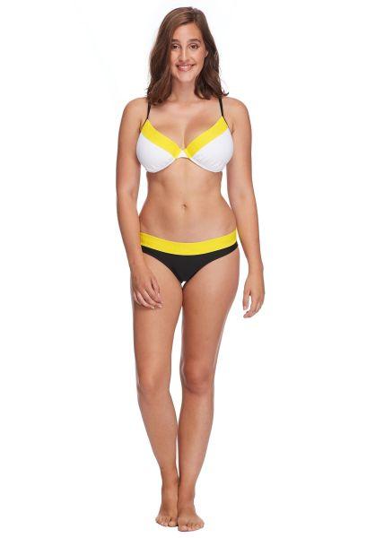 Body Glove Beachwear Bombshell Solo Bikini-Top snow vorderansicht 0205338