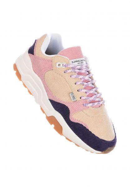 Djinns Alle Schuhe Easy Run Corduroy mixonrose vorderansicht 0612533
