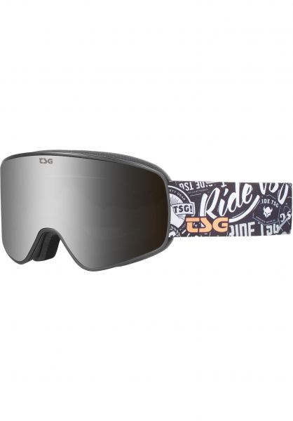 TSG Snowboard-Brille Goggle Amp stickerbomb vorderansicht 0340130