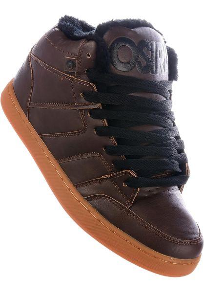 Osiris Alle Schuhe Convoy Mid SHR brown-black vorderansicht 0603830