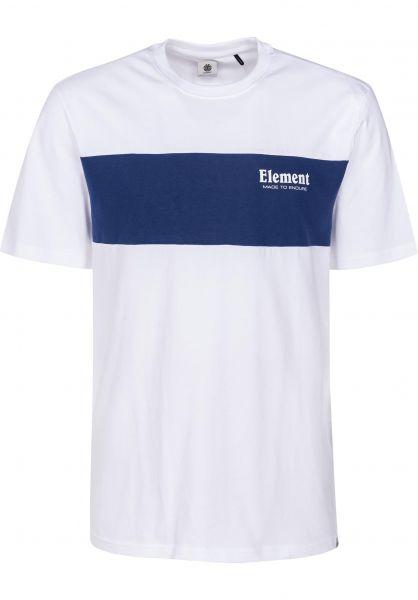 Element T-Shirts Bold opticwhite Vorderansicht