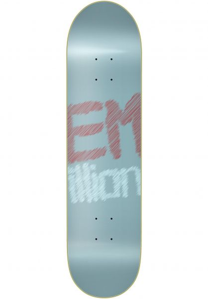 EMillion Skateboard Decks Blurred lightblue vorderansicht 0262537