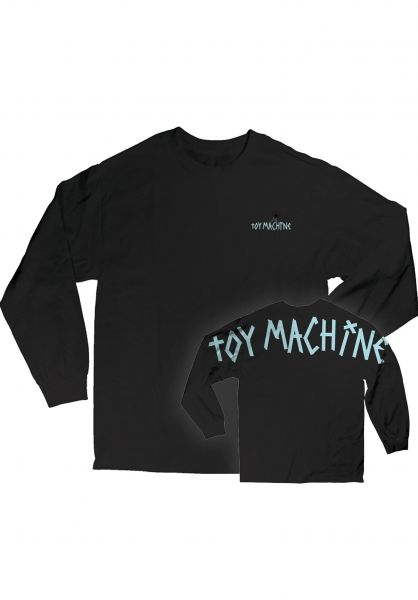 Toy-Machine Longsleeves Big Tape black vorderansicht 0383725